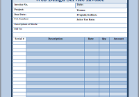 Web Design Invoice Example Free Invoice Templates - Web design invoice example