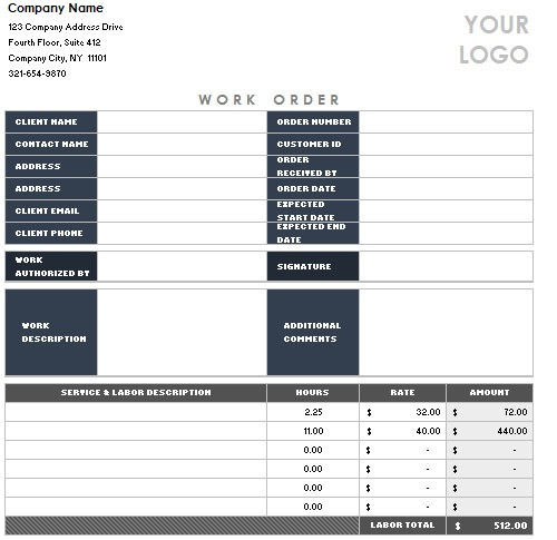 Computer Sales Invoice Template